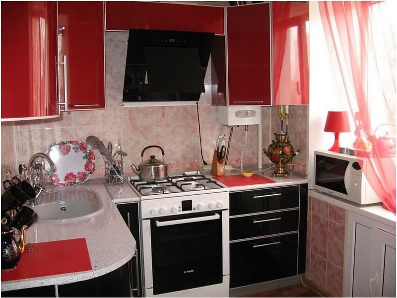 Ремонт небольшой маленькой кухни