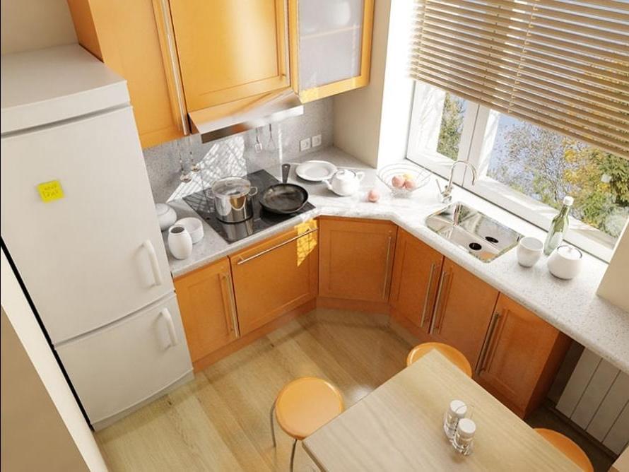 ремонт пятиметровой кухни