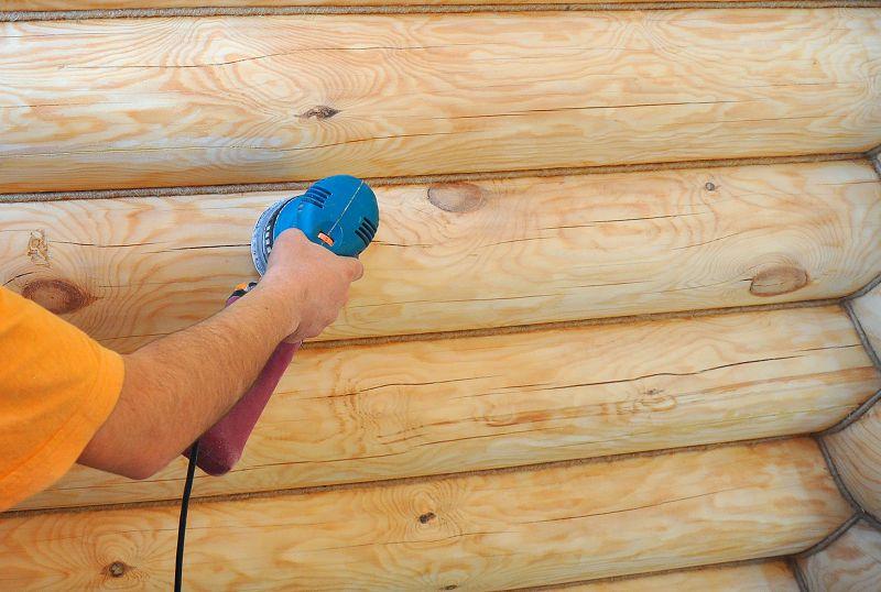 Обработка деревянных стен