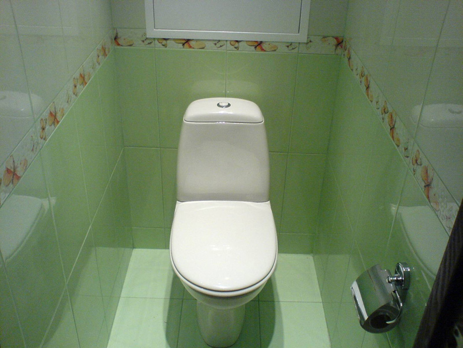 ремонт туалета пластиковыми панелями