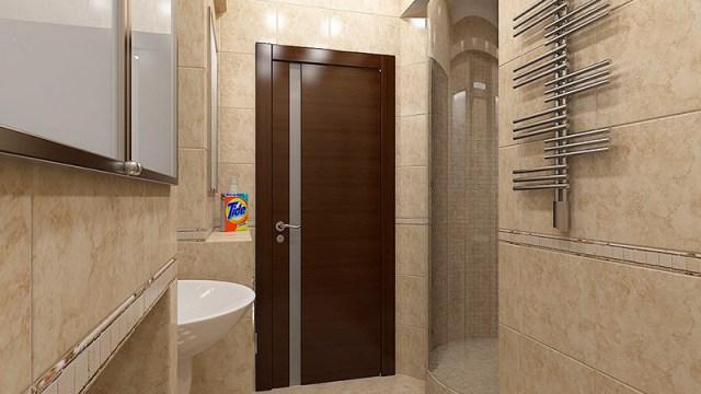 установки двери в ванную